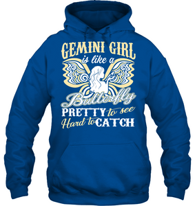 Gemini Girl Is Like A Butterfly Pretty To See T Shirts