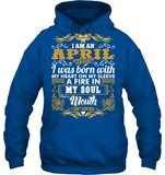 Born On I am an April Woman My Heart On My Sleeve T Shirts