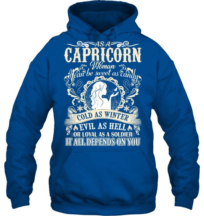 Capricorn Woman I Can Be Sweet As Candy T Shirts