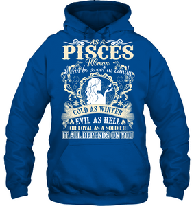 Pisces Woman I Can Be Sweet As Candy T Shirts