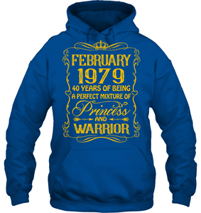 February 1979 40 Years Being A Perfect Mixture Princess T Shirts