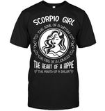 Scorpio Girl The Soul Of A Witch The Fire Of A Lioness T Shirts