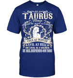 Taurus Woman I Can Be Sweet As Candy T Shirts
