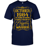 October 1984 35 Years Being A Perfect Mixture Princess T Shirts