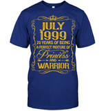 July 1999 20 Years Being A Perfect Mixture Princess T Shirts