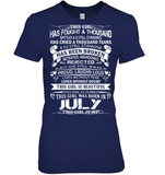 July This Girl Is Me T Shirts