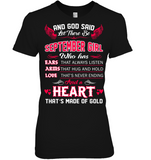 And God Said Let There Be September Girl T Shirts