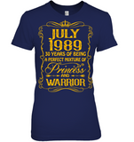 July 1989 30 Years Being A Perfect Mixture Princess T Shirts