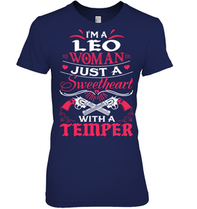 Leo Woman Just A Sweetheart T Shirts