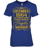 December 1964 55 Years Being A Perfect Mixture Princess T Shirts