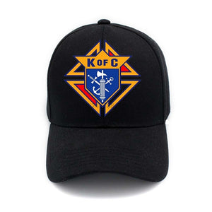 Cool The Knights Of Columbus Women And Men Hip Hop Casual Adjustable Snapback Baseball Hats