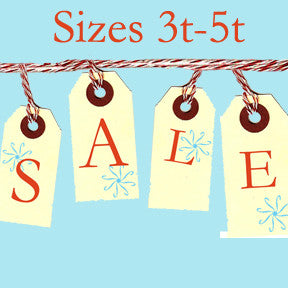 Tiny Chic Sale, Sizes 3t - 5t