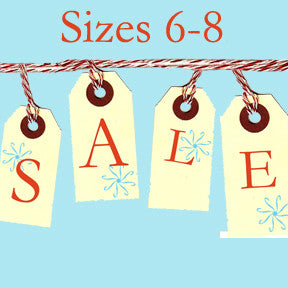 Tiny Chic Sale, Sizes 6 - 8