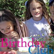 birthday club, girls birthday gift card, tiny chic fans, join and celebrate your girl's birthday