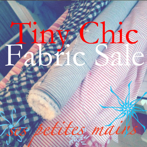 cotton fabric, ses petites mains, girls and tween fashions, fabrics for sale by the yard or the bolt