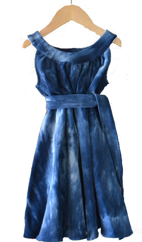 Anna Dress, Tiny Wale Cord, Tie Dye