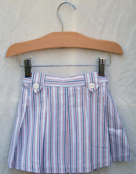 Aggie Skirt, Cabana Stripe