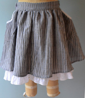 Audrey Skirt, Pucker Stripe, soldout