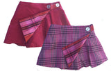Caitlin Kilt, Solid & Plaid