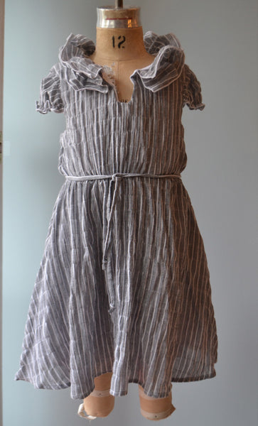 Cecelia dress, Pucker Stripe, size 12 only
