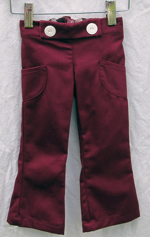 Courtney Trouser, Organic Cotton Twill
