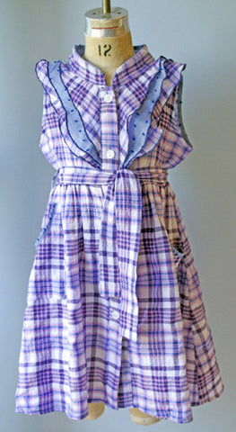 Emma Shirtwaist, Picnic Plaid, 2t only