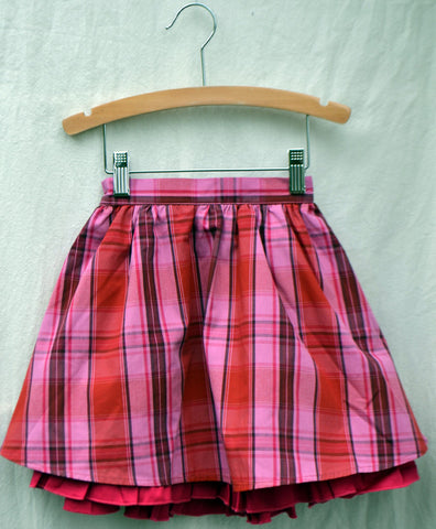 Eva Skirt, Ribbon Candy Plaid