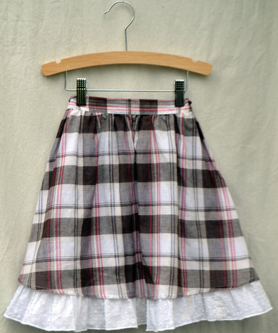 Eva Skirt, Picnic Plaid