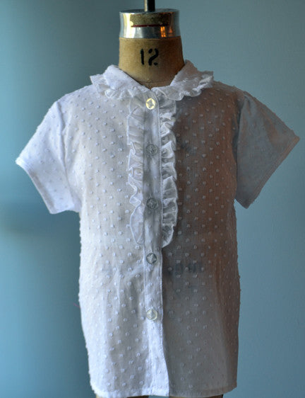 Gemma Blouse, Alyce Dot, Size 7 only