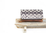 Diamond Ikat Clutch (or Ipad holder)