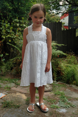 Katie Dress, Crinkle Hoops