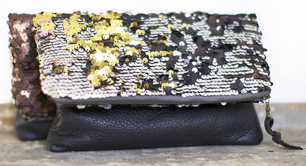 Sequined Clutch (or Ipad holder)