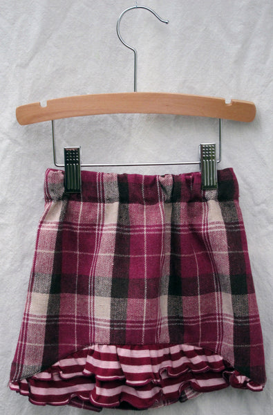 Lulu Skirt, Box Plaid