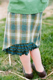 Lulu Skirt, Harvest Herringbone