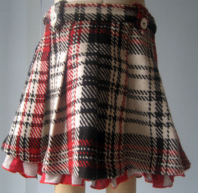 Maeve skirt, Kennedy School Plaid