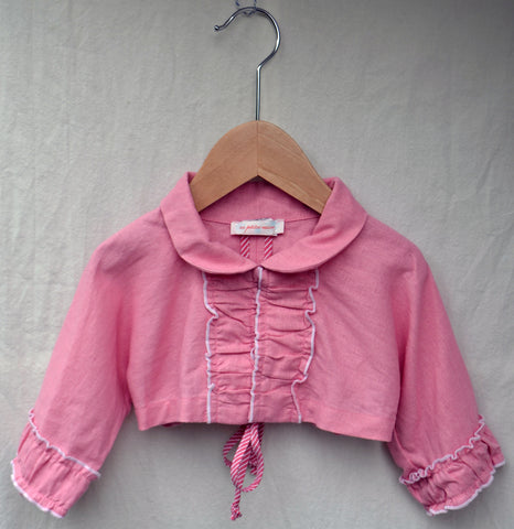 Rachel Jacket, Washed Linen