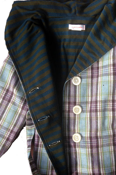 Thora Jacket, Glitter Plaid