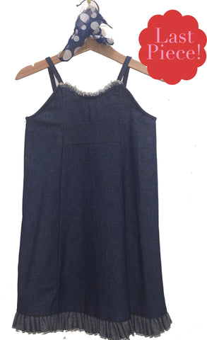 Zuzu Slip, Mae Denim, 3t only