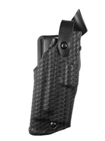 Safariland 6360 ALS Duty Holster   w/Light Level 3 Retention Right Hand SafariLaminate Basket Black 6360