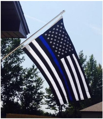 US BLUE LINE FLAG