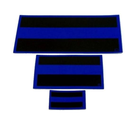 Thin Blue Line Reflective Decal