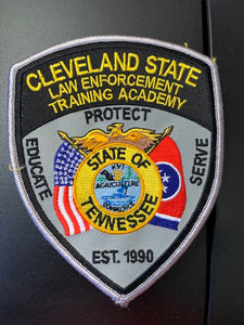 Cleveland State Law Enforcement Training Academy Patches