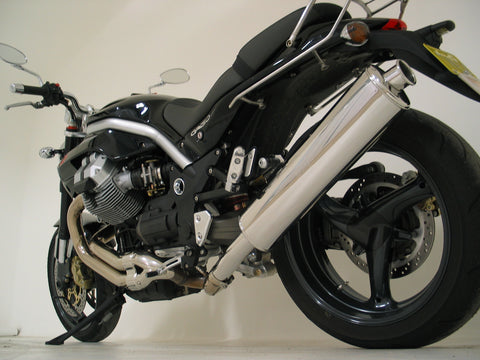 MOTO GUZZI Sports mufflers and full exhaust systems made by Staintune Australia