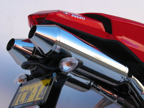 DUCATI Sports mufflers and full exhaust systems made by Staintune Australia