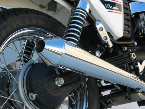 MOTO GUZZI Sports mufflers and full exhaust systems made by