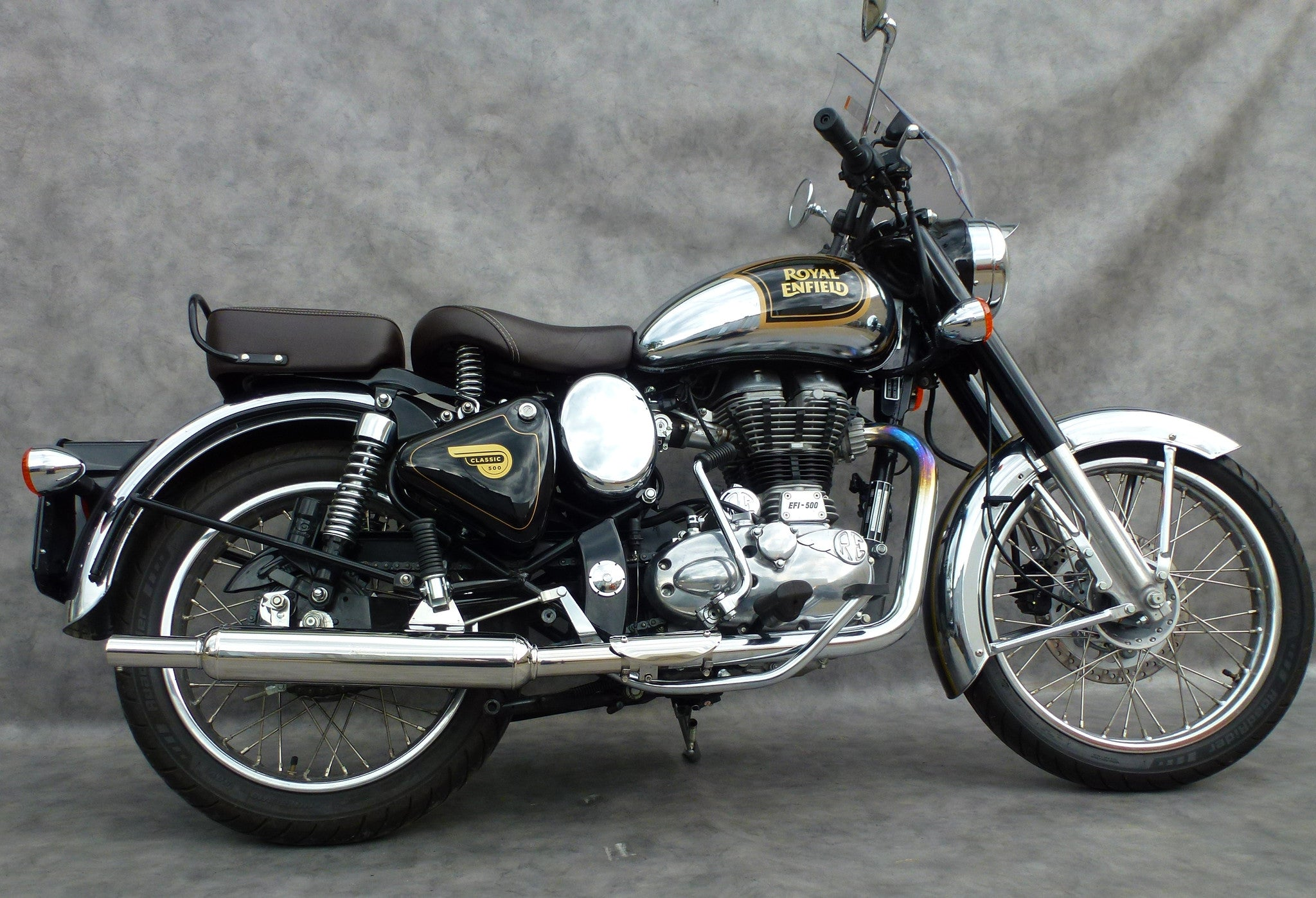 New Product Staintune Sports Muffler Royal Enfield Bullet 500 ...