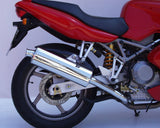 Ducati ST4 ST3 & ST 2 Twin Oval Sports Mufflers