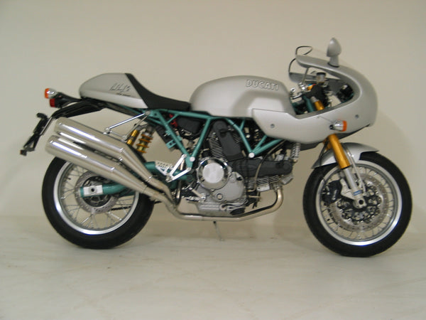 Ducati Paul Smart Twin Replica Sports Mufflers