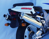 SUZUKI TLR1000 Oval Bolt On Sports Mufflers