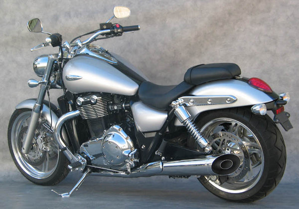 triumph thunderbird 1600 storm 1700 staintune sports muffler and collector stainless steel. Black Bedroom Furniture Sets. Home Design Ideas